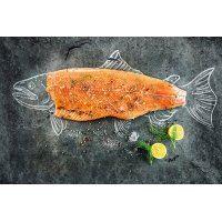Cá hồi tươi Fillet Úc giá sỉ (15-16kg/thùng)