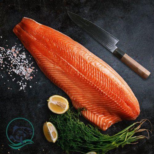 Cá hồi tươi Nauy fillet sỉ thùng (15-16kg)